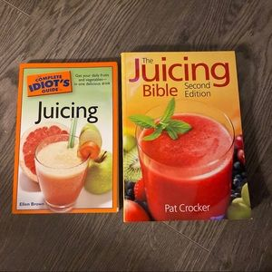 Other - Two Juicing Books